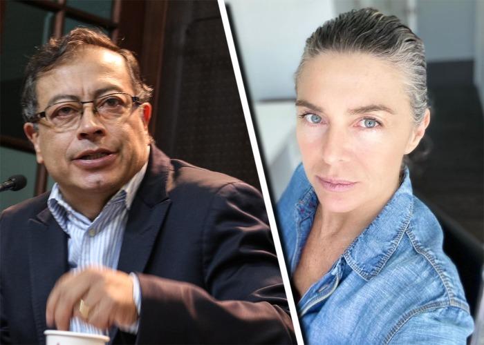 Margarita Rosa pone en su sitio a fan que la criticó por ser petrista