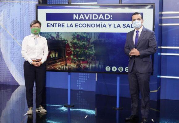 Acusan a Juan Diego Alvira de hacerle campaña de popularidad a Claudia López