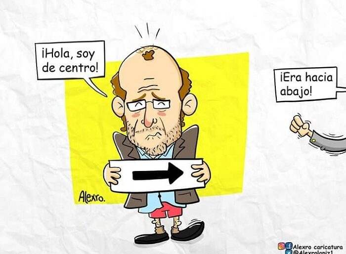 Caricatura: Los de