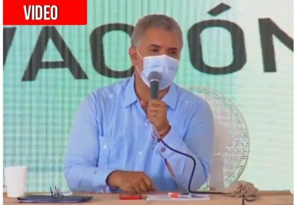 """""""Ratas de alcantarilla"""": Duque contra contratistas corruptos"""