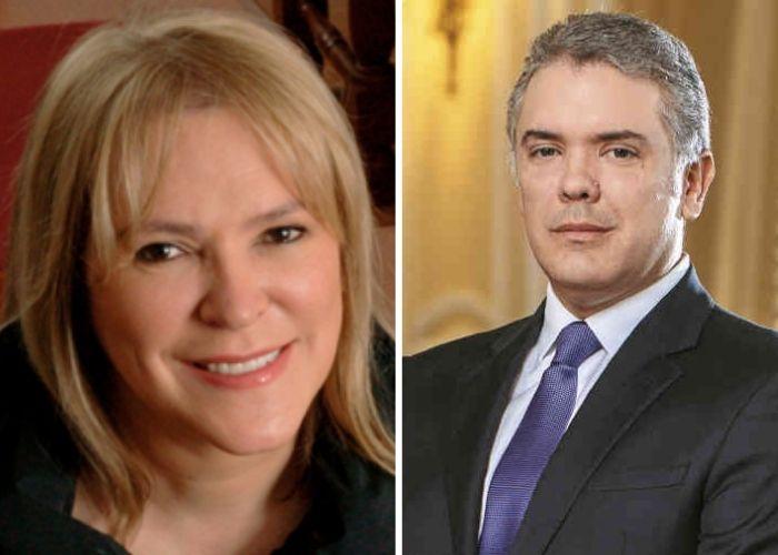 La gente se cansó de la defensa de María Isabel Rueda a Duque