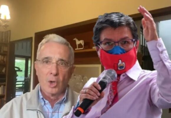 """""""Embusteros"""": Duro viajado de Claudia López a Uribe y el Centro Democrático"""
