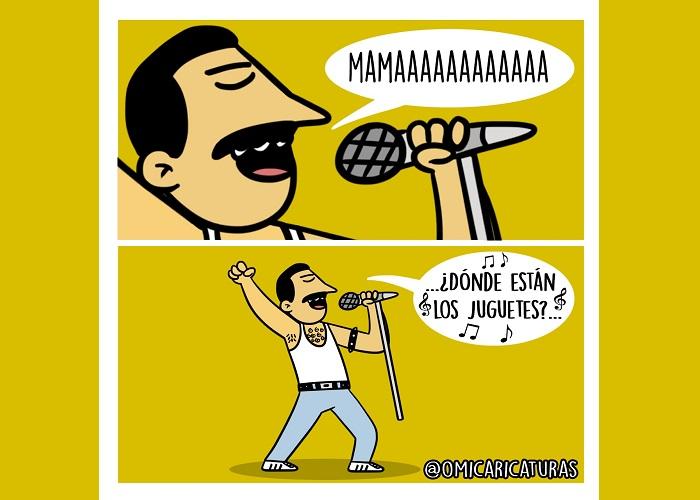 Caricatura: ¿Nuestra 'Bohemian rhapsody'?