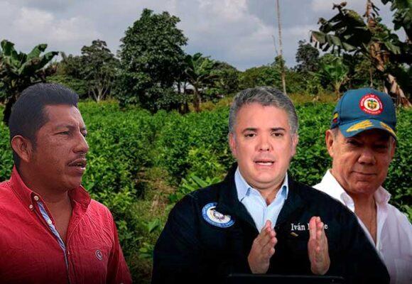 La pesadilla que Duque y Santos pusieron a vivir a los campesinos del Cauca