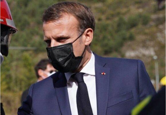 Macron, presidente de Francia, positivo para Covid-19