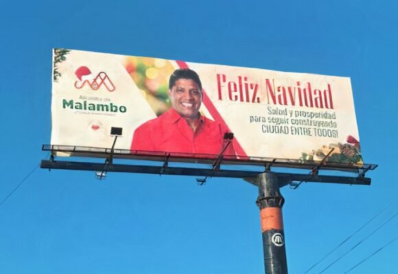 La fotogénica administración de Malambo