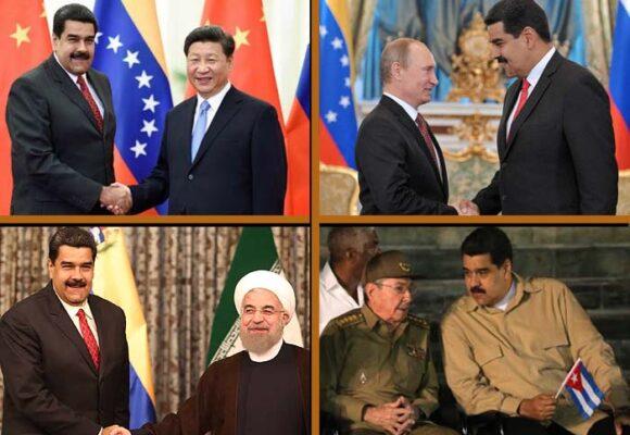 Las potencias que sostienen a Maduro en el poder