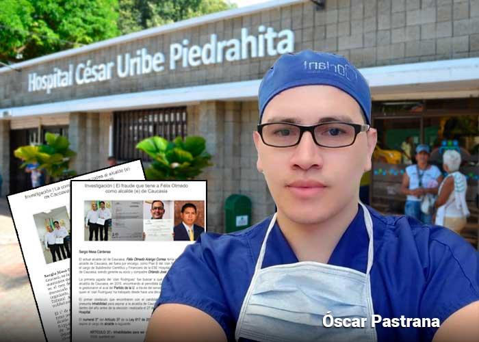 Las denuncias con las que arriesgó su vida el médico de Caucasia Óscar Pastrana