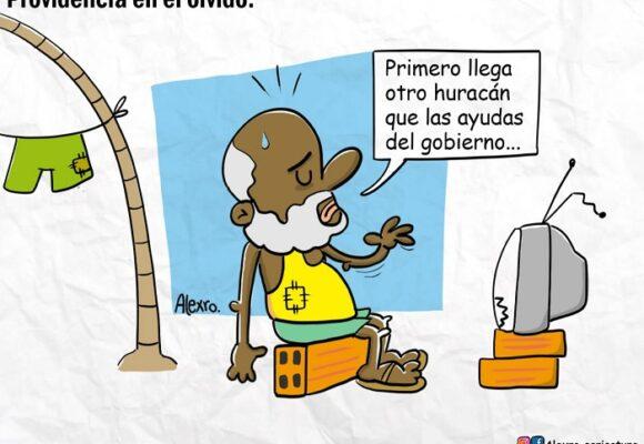 Caricatura: Providencia, en el olvido
