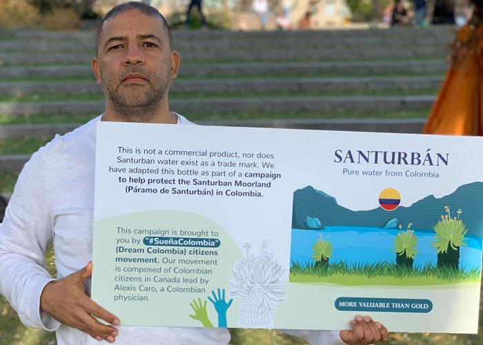 En Canadá también apoyan la defensa Santurbán