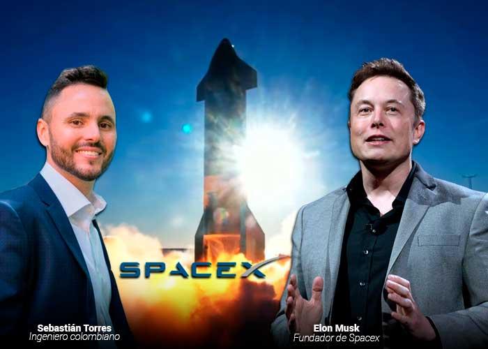 Un caleño en el equipo elite creador del cohete Space X