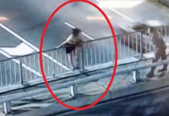 Video | En el último minuto la salvaron del suicidio