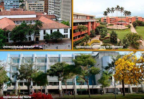 Rosario, Autónoma de Cali y Norte de Barranquila, las más amigables con el medio ambiente