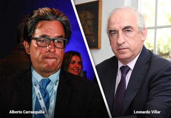 Villar y Carrasquilla, pulso de dos amigos por la gerencia del BanRep