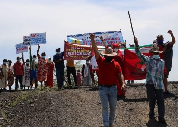 Cuatro años de resistencia de la Nación Wayúu