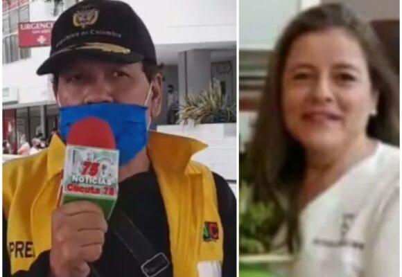 VIDEO: Reportero anuncia en vivo la muerte de su esposa por Covid