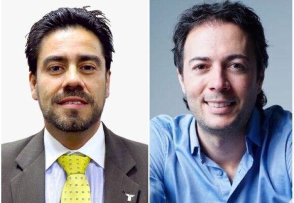 El alcalde de Medellín le da la mano al renunciado director de Fenalco