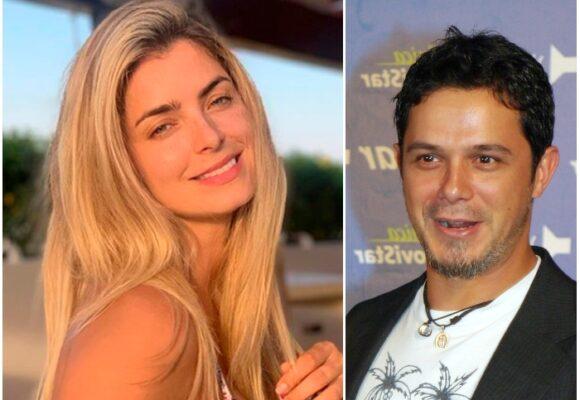 Hasta Alejandro Sanz se derrite con la belleza de Cristina Hurtado