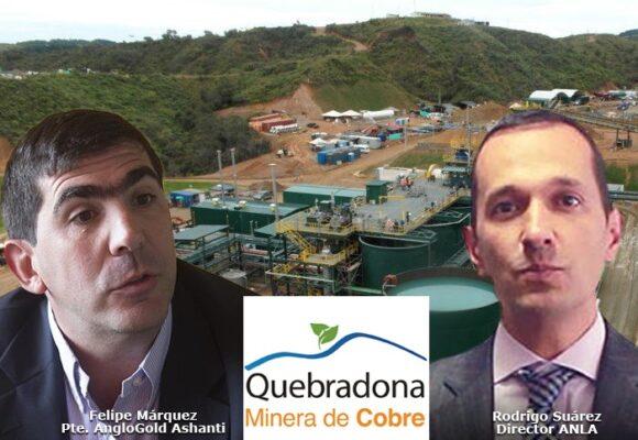Las sanciones a Anglogold Ashanti en la mina Quebradona debían pasar de $ 288 a $ 7. 656 millones