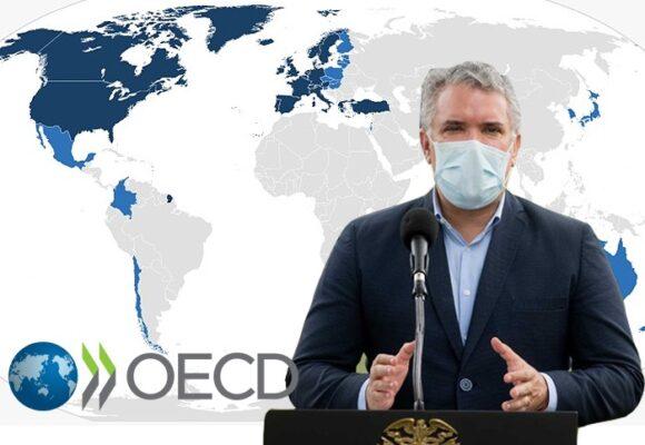 Colombia la vergüenza de la OCDE: cero vacunas