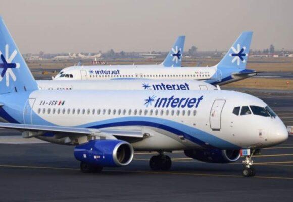 Aerolínea mexicana Interjet, multada en Colombia