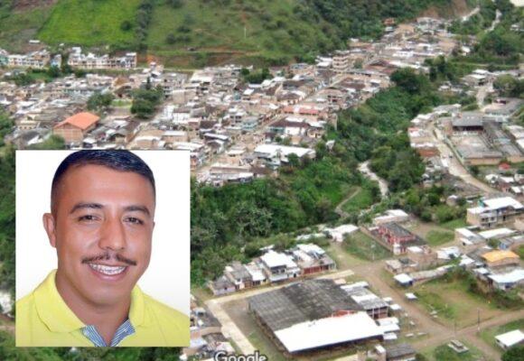 Grupo armado asesinó a concejal liberal de Argelia, Cauca