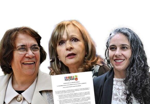 Las mujeres de la Colombia Humana se fueron contra Ángela M. Robledo