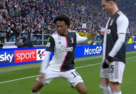 Cuadrado: el rey del vestuario de la Juventus