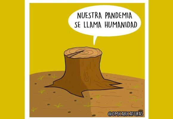 Caricatura: La verdadera pandemia