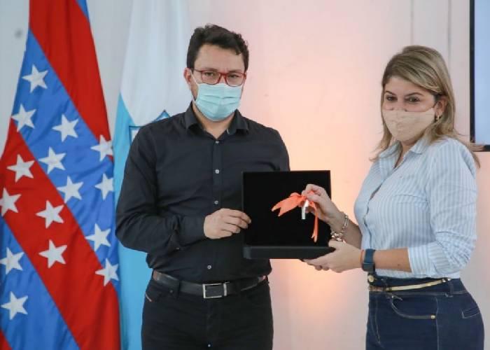 Gobernador del Magdalena y alcaldesa de Santa Marta, positivos para COVID-19