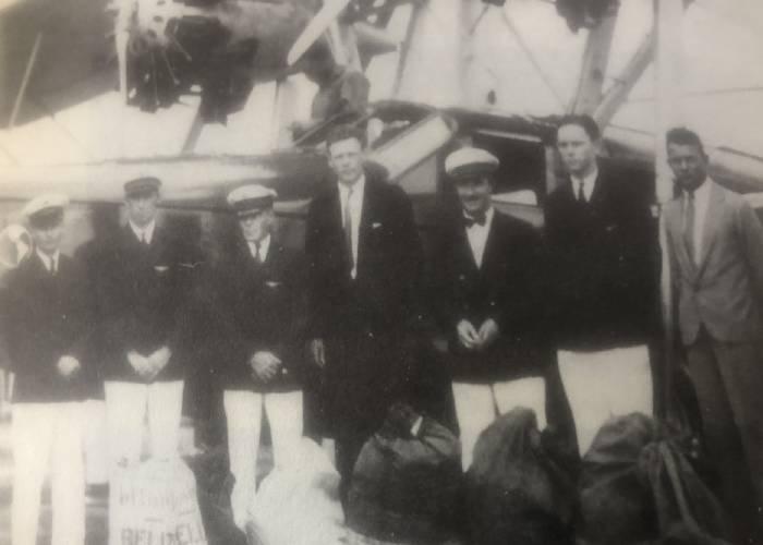 Cuando Charles Lindbergh visitó Bogotá y Medellín