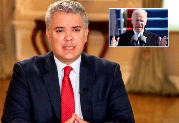 El dolor del presidente Duque por la ignorada de Biden