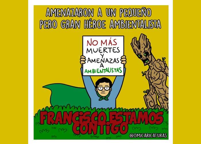 Caricatura: ¡Francisco, estamos contigo!