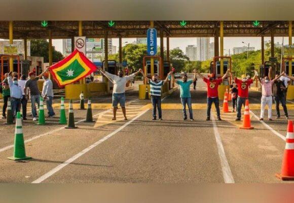 ¡No más peajes en Cartagena!