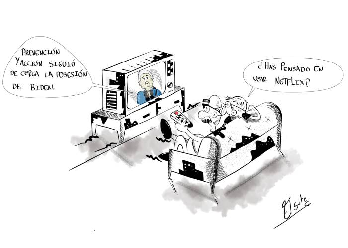 Caricatura: Prevención y acción