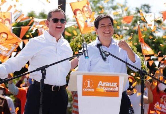 El Binomio de la Esperanza inicia la campaña electoral en Ecuador