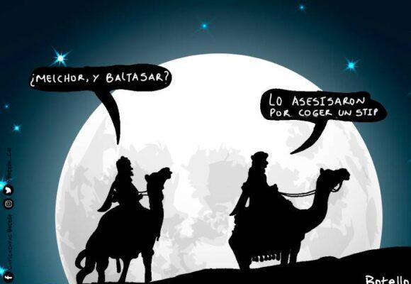 Caricatura: Sigue la inseguridad en los medios de transporte en Bogotá