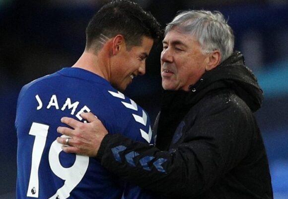 Nada le quitará el amor a Ancelotti por James