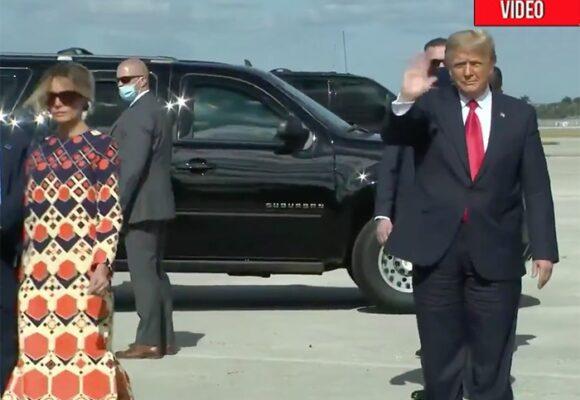 VIDEO: El desprecio de Melania a Donald Trump ahora que ya no es presidente