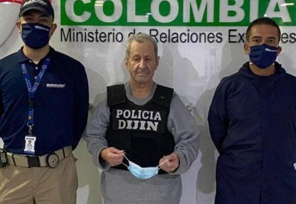 Aterrizó Taladro, a responder por 300 crimenes