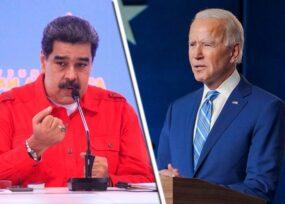 Maduro se quedó con los crespos hechos, Biden le dijo: no