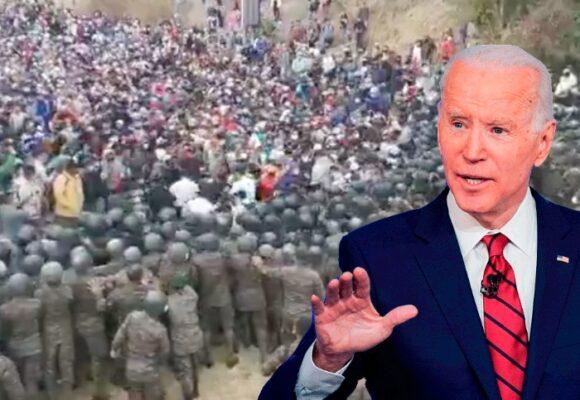 La caravana migrante, tremendo dolor de cabeza para Biden
