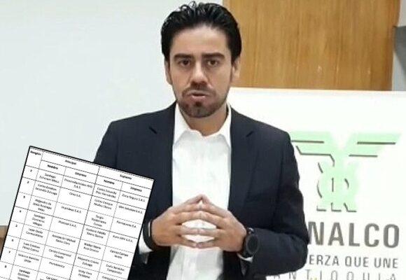 Nueve empresarios decidirán la suerte del gerente de Fenalco Antioquia