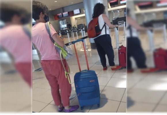 El afanoso regreso de Claudia López ayer tarde a Bogotá
