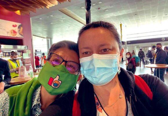 Claudia López deja la alcaldía y se va de viaje en pleno pico de la pandemia