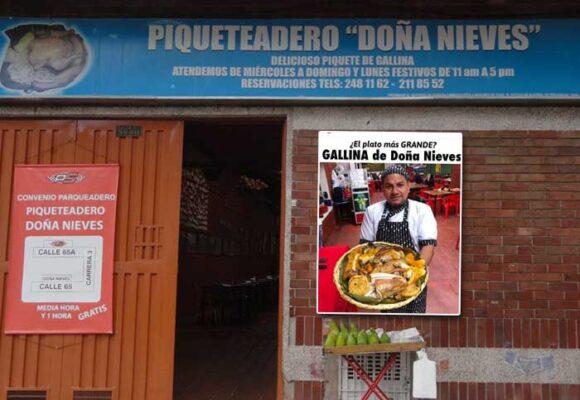 Doña Nieves y la mejor gallina criolla de Bogotá