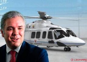 El potente helicóptero que estrenará Iván Duque en abril 2021