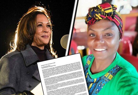 Entre mujeres afro: Francia Máquezle escribe a Kamala Harris