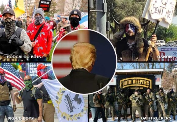 Las cinco milicias de ultraderecha que tienen en alarma a Estados Unidos