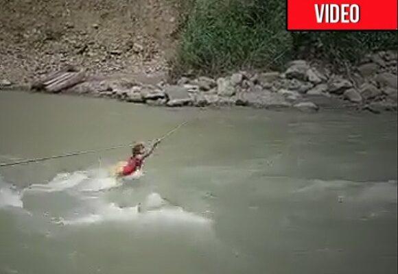 Luchando por que el río no se la trague: la única opción que tienen indígenas colombianos